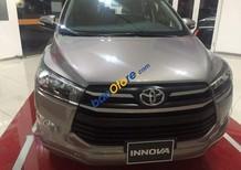 Bán Toyota Innova 2.0E sản xuất 2018, màu nâu