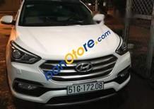 Bán Hyundai Santa Fe sản xuất 2018, màu trắng