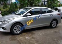 Cần bán xe Hyundai Accent Base sản xuất năm 2018, màu bạc, 425tr