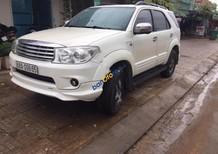 Bán Toyota Fortuner sản xuất 2011, màu trắng, giá chỉ 600 triệu