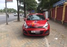Xe Kia Rio 1.4 AT sản xuất 2012, màu đỏ, nhập khẩu số tự động