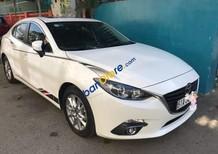 Bán xe Mazda 3 sản xuất 2016, màu trắng, xe cũ
