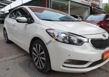 Bán xe Kia K3 1.6AT năm 2015, màu trắng chính chủ, giá chỉ 568 triệu