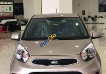 Bán ô tô Kia Morning Si AT năm sản xuất 2018, màu ghi vàng giá cạnh tranh