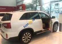 Cần bán xe Kia Sorento 6 AT sản xuất 2018, màu trắng