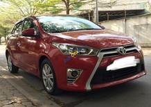 Bán xe Toyota Yaris G năm sản xuất 2015, màu đỏ, nhập khẩu