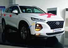 Bán ô tô Hyundai Santa Fe sản xuất năm 2018, màu trắng giá cạnh tranh