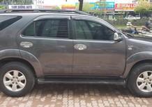 Cần bán Toyota Fortuner G 2011, màu xám đen, mới nhất Hà Nội