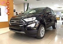 Bán Ford EcoSport 1.5L Titanium AT sản xuất 2019, màu đen, giá chỉ 605 triệu