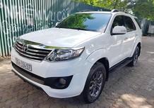 Bán xe Fortuner sportivo sx 2014, màu trắng, 830tr