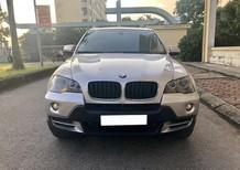 Cần bán gấp BMW X5 2007, số tự động màu bạc sang trọng