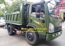 Bán xe ben dongfeng 5.7 tấn - 5T7 1 cầu thùng ben 5 khối