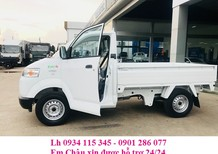 Bảng giá xe tải Suzuki Carry Pro 600kg/ 615kg/740kg thùng lửng, giá rẻ nhất thị trường, hỗ trợ trả góp, giao xe ngay