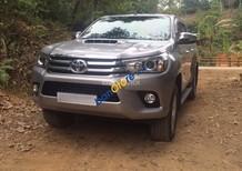Bán ô tô Toyota Hilux G sản xuất 2015, màu bạc, nhập khẩu