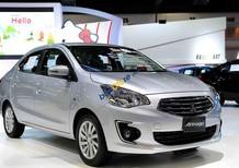 Cần bán xe Mitsubishi Attrage MT Eco sản xuất năm 2018, màu bạc, xe nhập