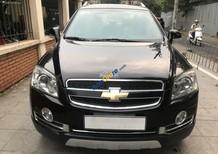 Cần bán xe Chevrolet Captiva sản xuất 2010, màu đen, giá 398tr