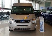Bán Ford Transit Luxury đời 2018, hỗ trợ trả góp 80%, xe giao ngay, giao xe tại nhà