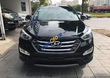 Cần bán xe Hyundai Santa Fe 2.4 AT 4x4 năm 2015, màu đen