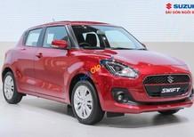 Cần bán Suzuki Swift GL sản xuất năm 2018, màu đỏ, nhập khẩu nguyên chiếc, 499tr