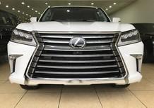 Bán Lexus LX570 trắng xe xuất Mỹ, sản xuất 2018 model 2019 mới 100%