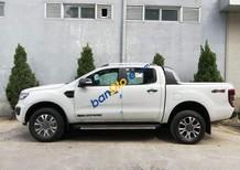 Bán Ford Ranger Wildtrak 2.0 Biturbo sản xuất 2018, màu trắng, nhập khẩu Thái