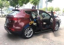 Bán Hyundai Santa Fe năm sản xuất 2017, màu đỏ, nhập khẩu nguyên chiếc