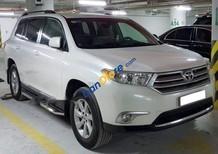 Cần bán Toyota Highlander AT sản xuất 2011, màu trắng, xe nhập
