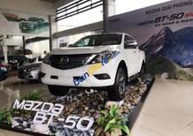 Bán Mazda BT 50 sản xuất 2018, màu trắng, xe nhập
