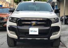Bán Ford Ranger Wildtrak 3.2L 4x4 AT sản xuất năm 2015, màu trắng, xe nhập