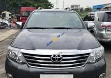 Bán ô tô Toyota Fortuner 2.7V 4x4 AT đời 2013, màu xám (ghi) có hỗ trợ trả góp