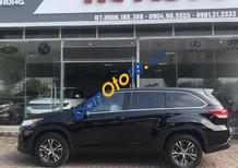 Bán Toyota Highlander năm sản xuất 2018, màu đen, nhập khẩu