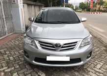 Cần bán xe Toyota Corolla Altis G 2013, màu bạc