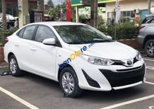 Cần bán xe Toyota Vios E năm sản xuất 2018, màu trắng giá cạnh tranh