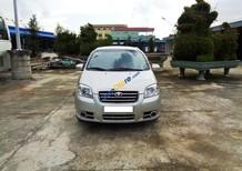 Bán xe Daewoo Gentra SX sản xuất năm 2011, màu bạc xe gia đình