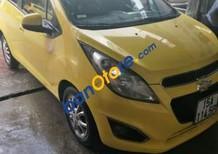 Cần bán lại xe Chevrolet Spark sản xuất năm 2013, màu vàng giá cạnh tranh