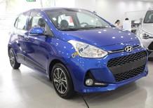 Bán xe Hyundai Grand i10 1.2 MT sản xuất năm 2018, màu xanh lam giá cạnh tranh
