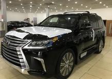 Bán Lexus LX 570 sản xuất 2018, màu đen, nhập khẩu