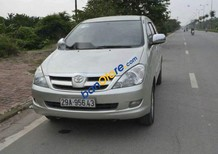 Bán lại xe Toyota Innova G đời 2007, màu bạc, xe cũ