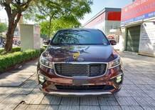 Bán Kia Sedona Platinum D sản xuất năm 2018, màu đỏ giá tốt