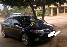 Bán Kia Forte 1.6MT đời 2012, màu đen, xe cũ