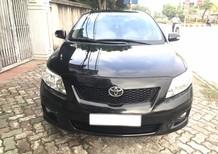 Cần bán gấp Toyota Corolla Altis 2.0 V 2009, màu đen