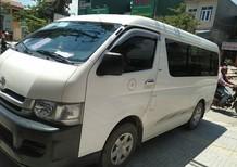 Cần bán gấp Toyota Hiace G sản xuất năm 2010, màu trắng, xe nhập