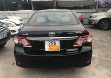 Cần bán lại xe Toyota Corolla Altis 2.0 năm sản xuất 2010, màu đen như mới, 555 triệu