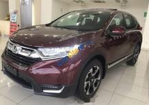 Bán Honda CR V L năm sản xuất 2018, màu đỏ, xe nhập
