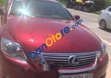Bán Lexus GS 450H sản xuất 2010, màu đỏ, nhập khẩu nguyên chiếc, xe biển Sài Gòn