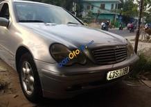 Cần bán Mercedes C200 2.0MT đời 2003, xe cũ, sử dụng giữ gìn, cẩn thận