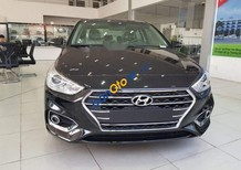 Bán ô tô Hyundai Accent sản xuất 2018, màu đen, giá tốt