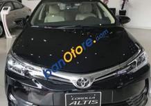 Bán xe Toyota Corolla 2018, màu đen, kiểu dáng xe lịch lãm và sang trọng