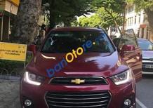 Cần bán Chevrolet Captiva 2.4 AT sản xuất năm 2017, màu đỏ giá cạnh tranh