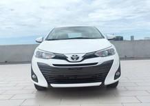 Bán xe Toyota Vios 2018, tặng 2 năm BHVC, trả trước 190 triệu, đủ màu có xe giao ngay